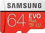SAMSUNG EVO Plus 2020 - Memoria Flash de 64 GB MicroSDXC Clase 10 UHS-I