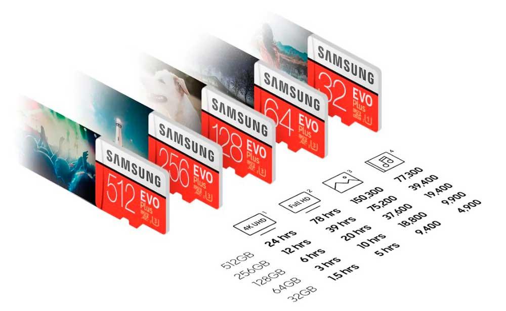 tarjetas-micro-sd-samsung-capacidades-gb-de-almacenamiento